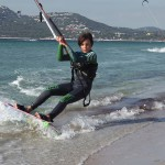 kitesurf novice