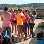reportage photos kitesurf enfant entrainement physique cer kitesurf hyeres