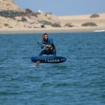 photo kiteboard foil plage almanarre ariane imbert