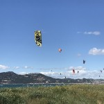 kitesurf almanarre paysage hyeres le spot kitecenter
