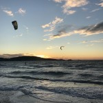 kitesurf ecole plage almanarre sunset le spot kitecenter