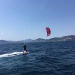 kitesurf tirer son premier bord