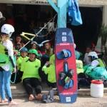 cours de kitesurf enfants