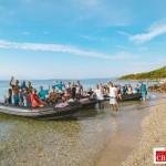 cb conseil journee incentive seminaire kitesurf porquerolles plage bateau