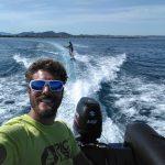 stage jeune kitesurf tracteee bateau soleil