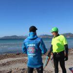 coaching kitesurf depart plage