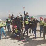 stage kitesurf jeunes enfants ados