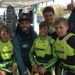 stage jeune kitesurf champions en herbe