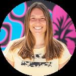 Justine Avril - Monitrice de kitesurf