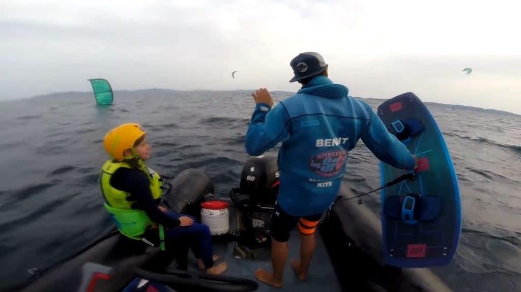 zoom cours kitesurf spot kitecenter